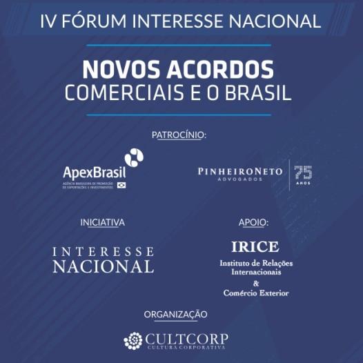 IV Fórum interesse nacional
